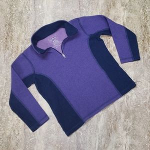 L.L. BEAN YOUTH FLEECE PULLOVER SIZE M 5/6